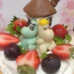 キャラクターケーキ・ムーミン
